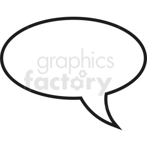 speech bubble vector clipart on pink background . Royalty