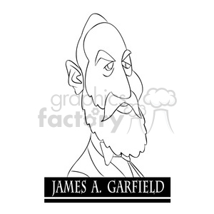 james a black and white cartoon clipart images and clip