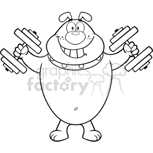 Royalty Free RF Clipart Illustration Black And White