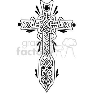 christian religion cross 088 clipart. Royalty-free GIF