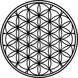 Royalty-Free flower of life 384861 vector clip art image