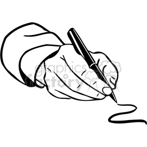 Royalty-Free office business hand writing 089 386038
