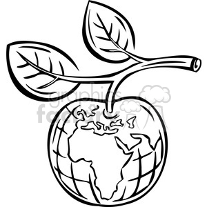 Royalty-Free eco apple sustainable food 074 386088 vector