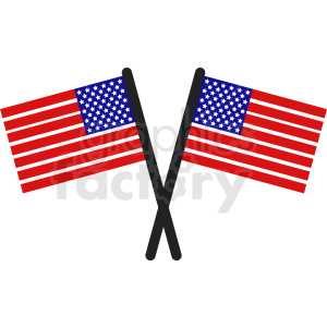 usa flags icon clipart
