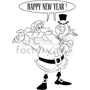 Clip Art / Holidays / New Years and more related vector