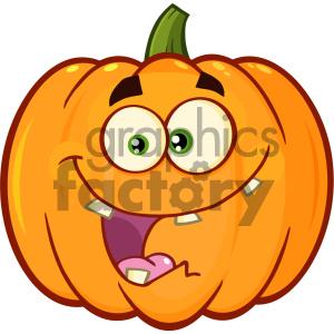 crazy orange pumpkin vegetables