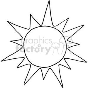 2738-Sun-Cartoon-Character clipart. Royalty-free GIF, JPG