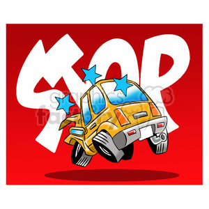 Car Accident Stop Illustration Clipart Royalty Free Gif Jpg Png Eps Svg Ai Pdf Clipart