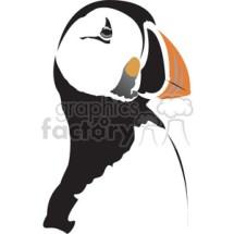 Puffin bird clipart Royaltyfree clipart 395003