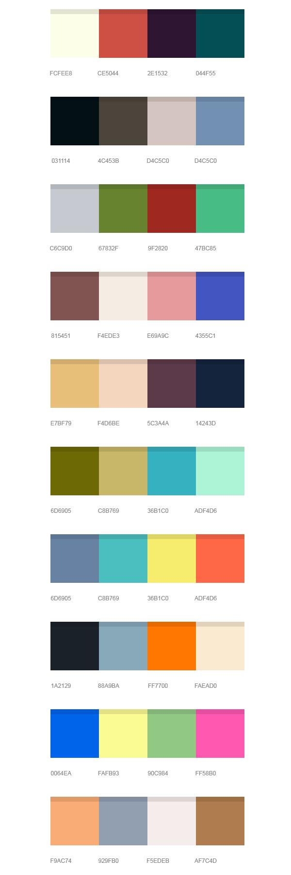 color pallettes iii maxstudiotech