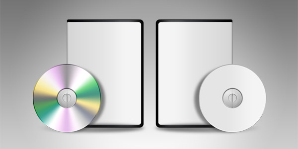 Blank DVD CD template (PSD) - GraphicsFuel