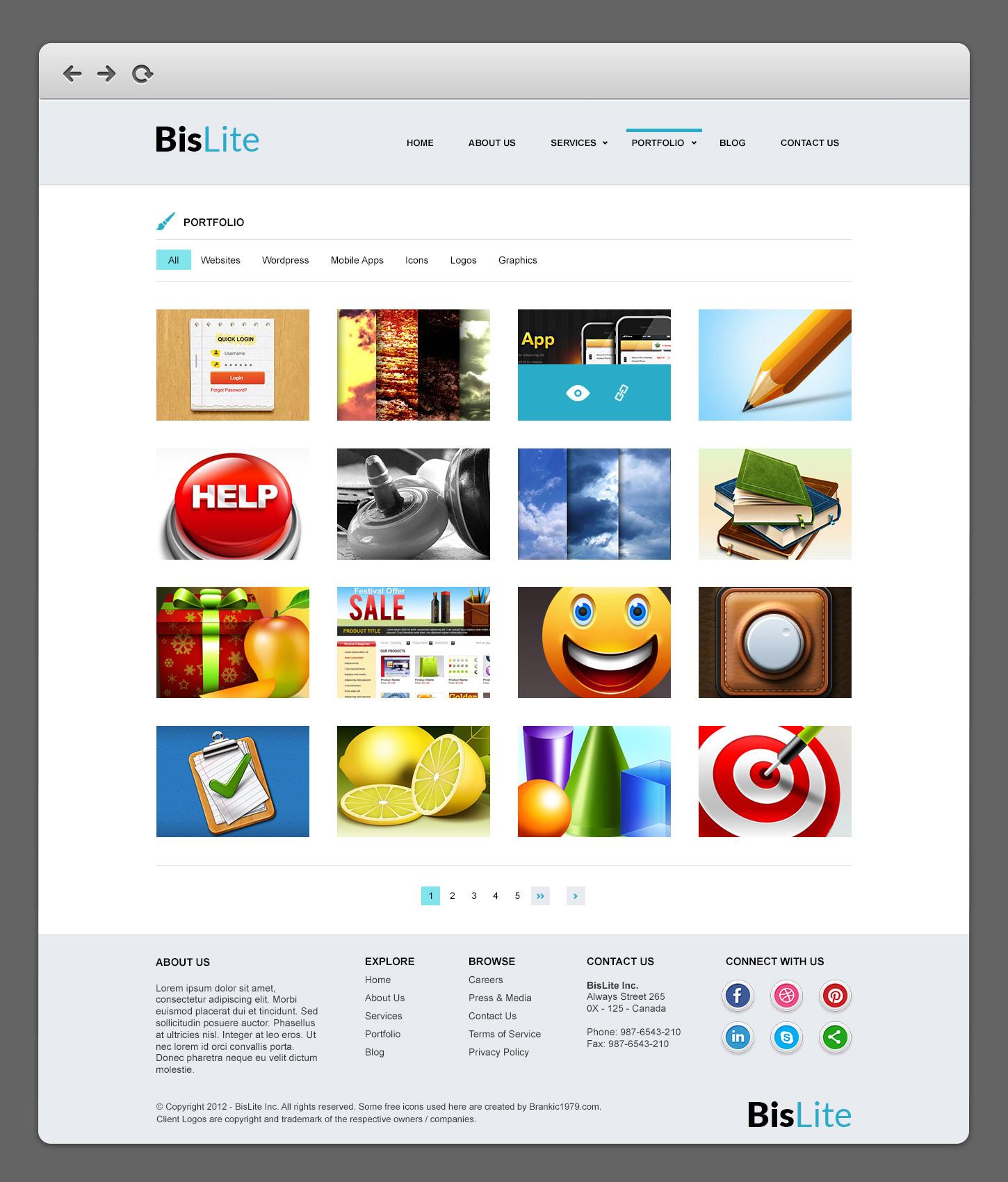 bislite business website psd templates graphicsfuel. Black Bedroom Furniture Sets. Home Design Ideas