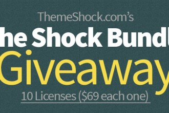 10 Shock Bundle Licenses Giveaway from ThemeShock