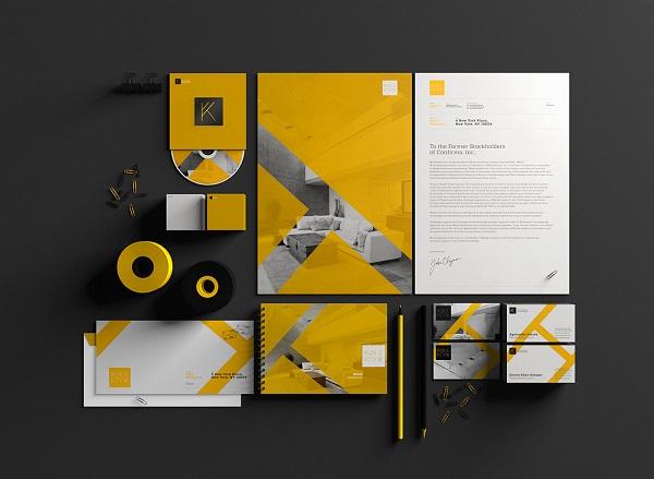 20 Beautiful Stationery Branding Mockups GraphicsFuel