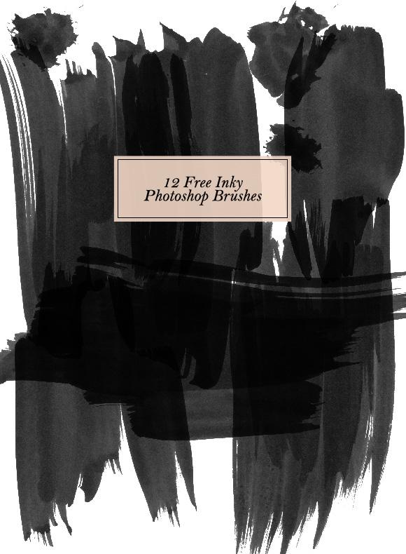 free_inky_shape_layer_brushes