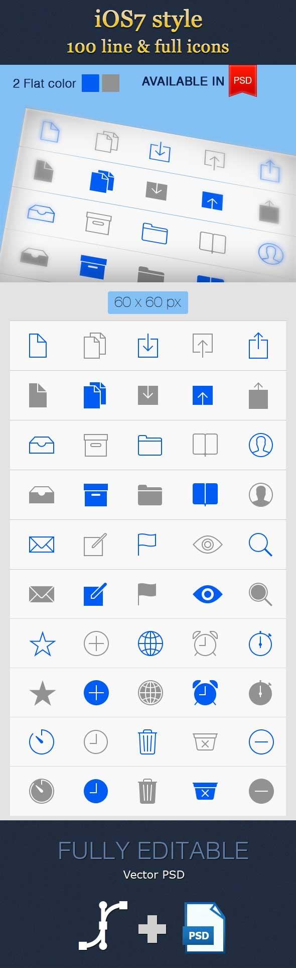 100-line-icons
