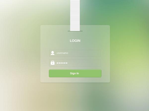 login-free-psd