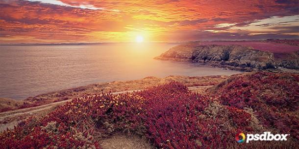 landscape-sun-photoshop-tutorial