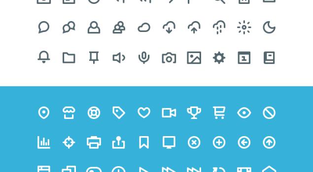 60 Free Icons (PSD & AI)