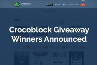 CrocoBlock Giveaway Winners Announced