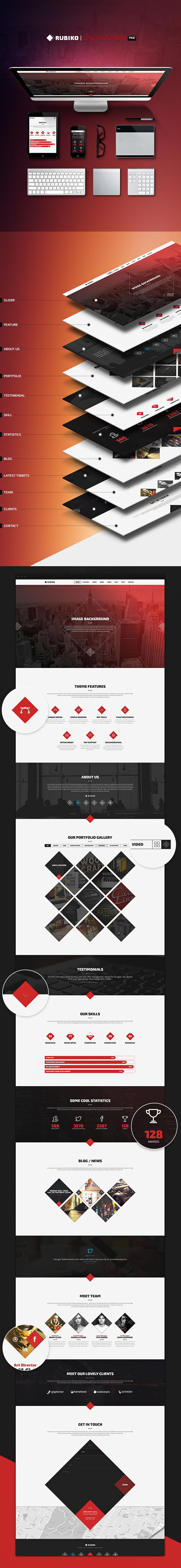 rubiko-website-template