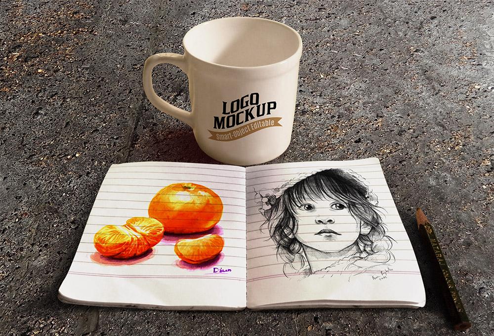 book&coffeecup-mockup02