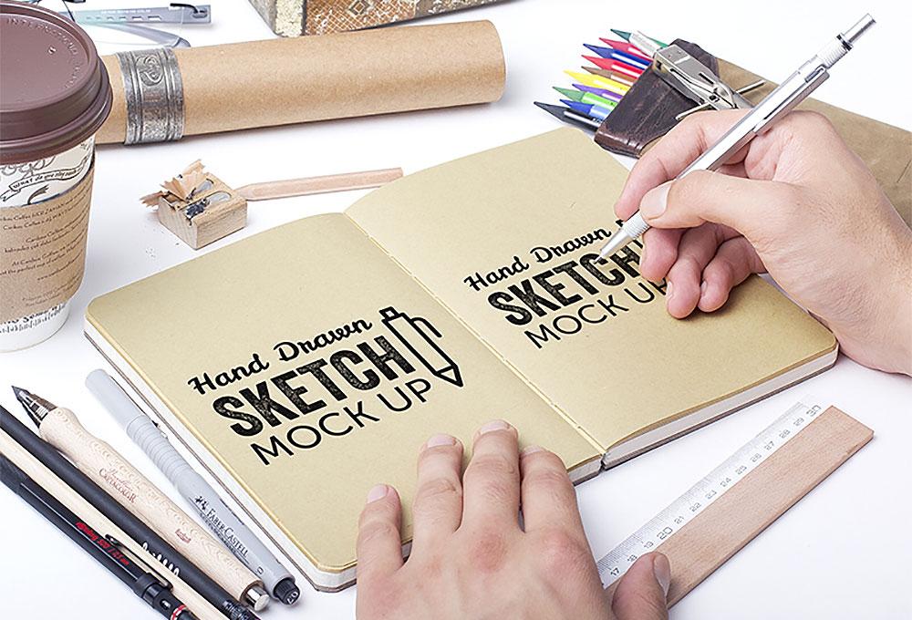 sketchbook-mockup