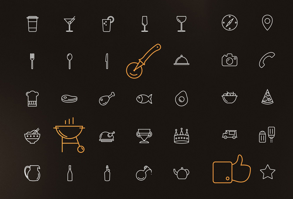 100-free-line-icons