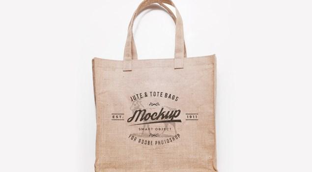Free Jute And Tote Bag Mockups
