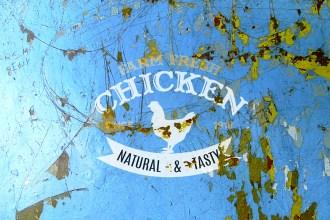 Peeled Painted Wall Logo Mockup PSD