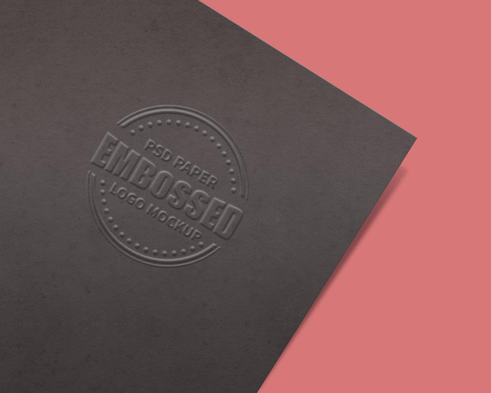 embossed-dark-paper-logo-mockup