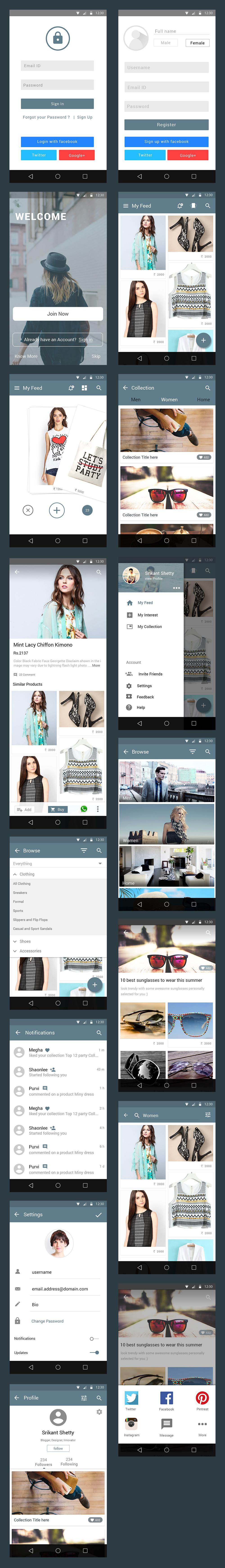 free-ecommerce-app-ui-kit-psd