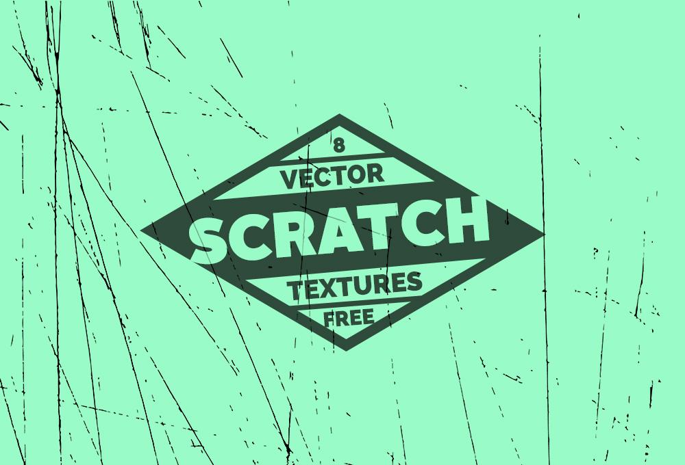 8 Free Scratch Vector Textures - GraphicsFuel