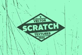 8 Free Scratch Vector Textures