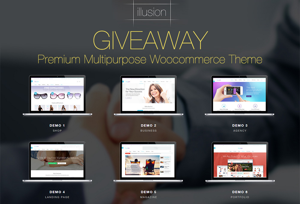 giveaway-woocommerce-theme
