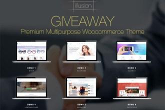 Giveaway: Win 3 Copies of Illusion Premium Multipurpose Woocommerce Theme
