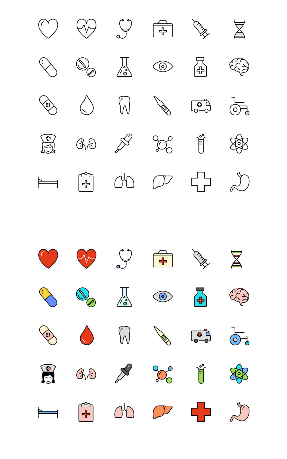medical-science-icons