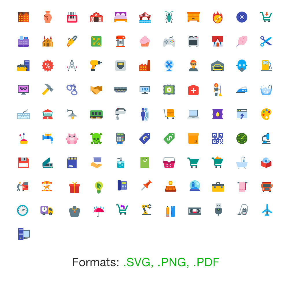 free-flat-icons-all