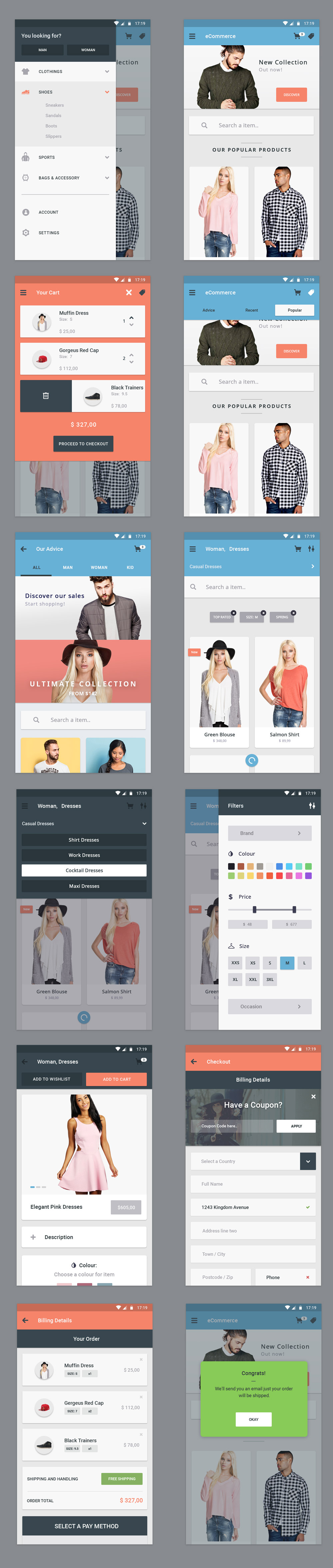 12-ecommerce-app-ui-screens