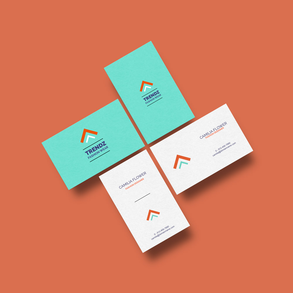 Free Business Cards Mockup - GraphicsFuel