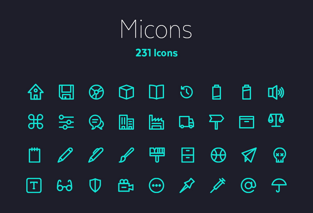 micons-free-outline-icons