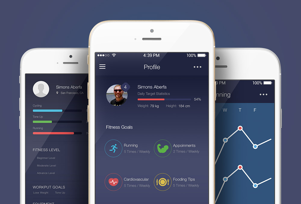 free-fitness-app-ui-kit