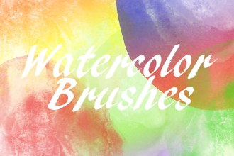 24 Free Watercolor Brushes
