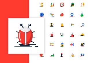 1000 Free Flat Icons