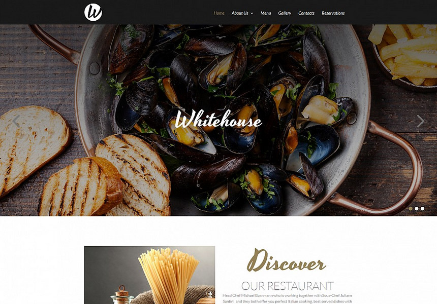 restaurant-website