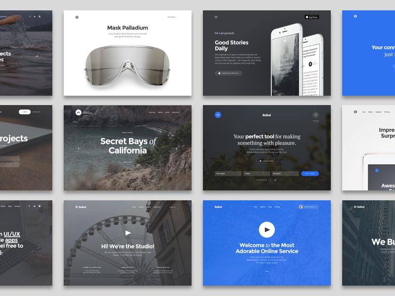 Baikal – Startup UI Kit