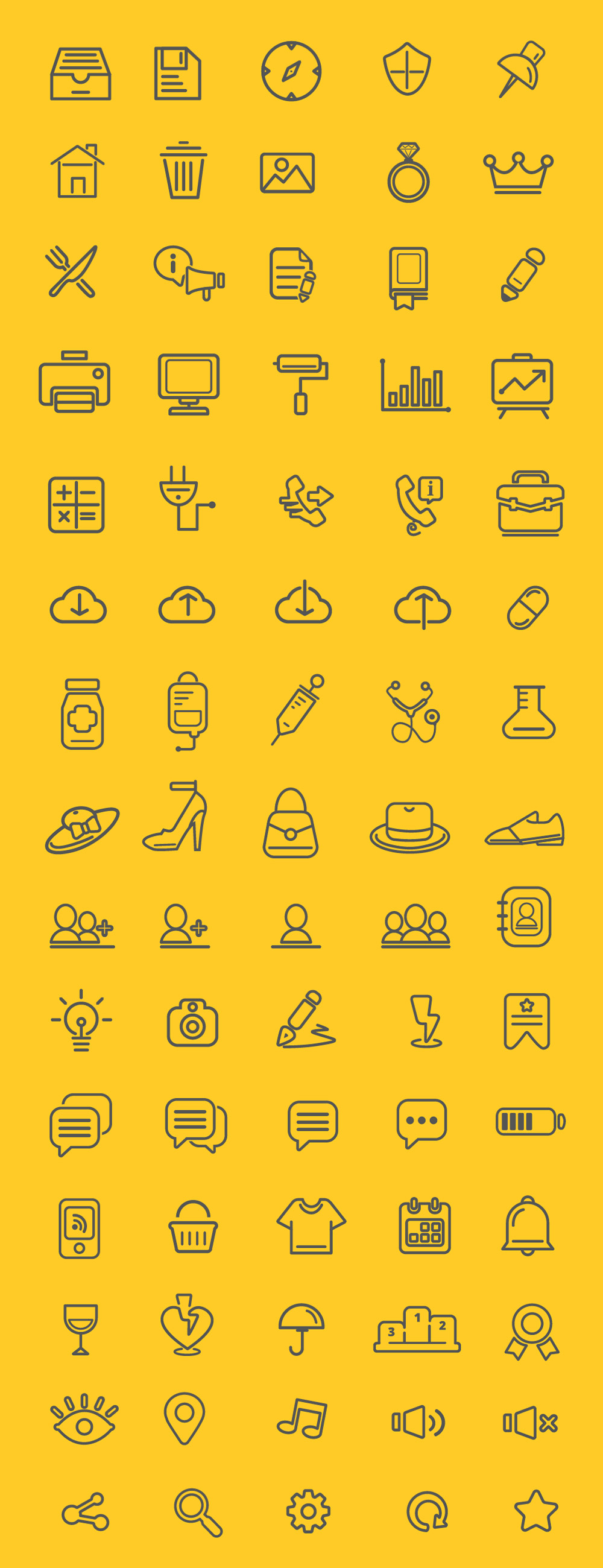 75-outline-icons