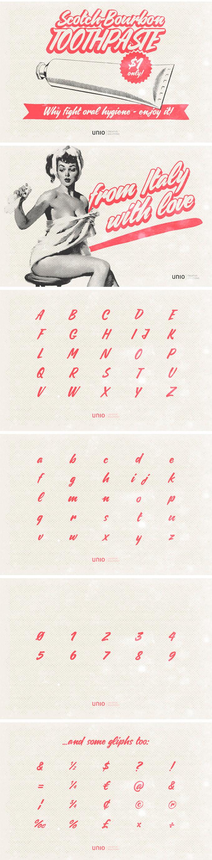 caresello-free-font