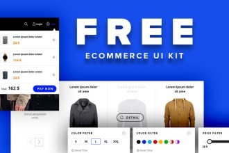 Free Ecommerce PSD Kit