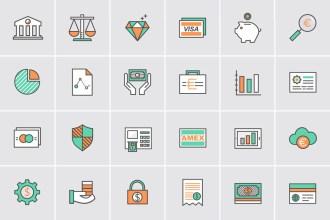 Banking & Money Icons